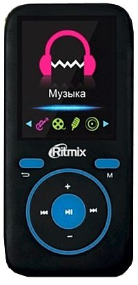 Flash MP3-плеер Ritmix RF-4450 4Gb Black blue