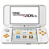 Nintendo 3DS: New Nintendo 2DS XL (белый + оранжевый)