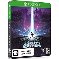 Xbox One: Agents of Mayhem STEELBOOK ИЗДАНИЕ.