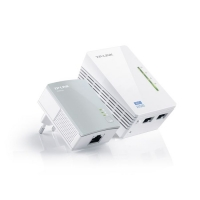 Сетевой адаптер HomePlug AV/WiFi TP-Link TL-WPA4220KIT