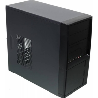 Корпус LinkWorld 727-21 черный без БП mATX 4xUSB2.0 audio