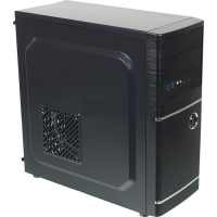 Корпус Accord ACC-B301 черный без БП ATX 3x120mm 2xUSB2.0 2xUSB3.0 audio