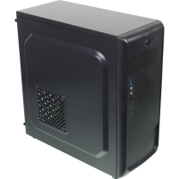 Корпус Accord ACC-B307 черный без БП ATX 3x120mm 1xUSB2.0 1xUSB3.0 audio