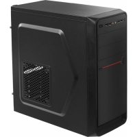 Корпус Accord D-50 черный без БП ATX 1x92mm 3x120mm 1x140mm 4xUSB2.0 1xUSB3.0 audio