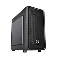 Корпус Thermaltake Versa H15 черный без БП mATX 4x120mm 1xUSB2.0 1xUSB3.0 audio bott PSU